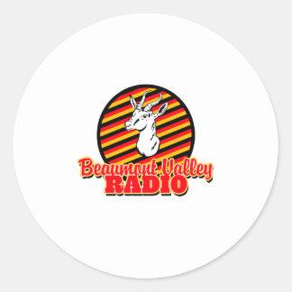 Beaumontの谷のラジオ ラウンドシール