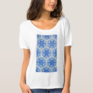 beautiful blue T-shirts Tシャツ