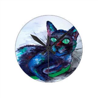 beautiful CompanionのBiscuit氏叔母さんの ラウンド壁時計