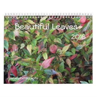 BEAUTIFUL LEAVES 2018 CALENDAR カレンダー