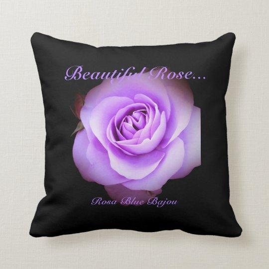 Beautiful Rose:Rosa Blue Bajou(pillow) クッション