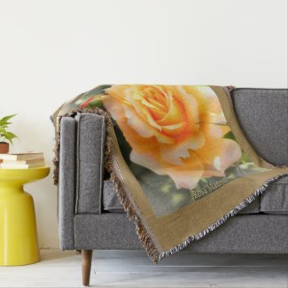 Beautiful Rose:Rosa'Manyo'|Blanket スローブランケット