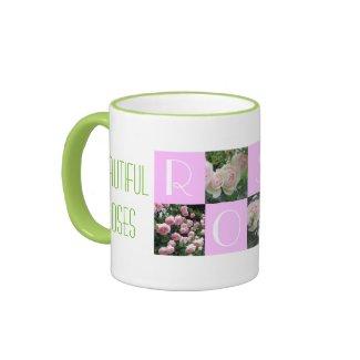 Beautiful Roses Ringer Mug