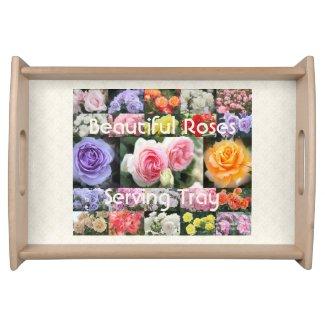 Beautiful Roses:Serving Tray トレー