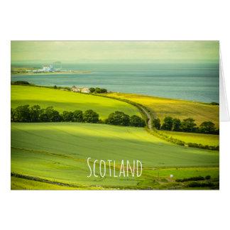 Beautiful Scotland, greeting card カード