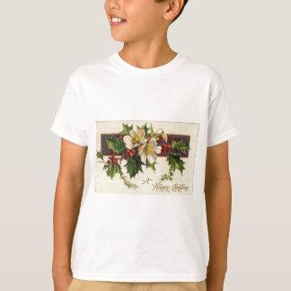 Beautiful Victorian Vintage Holidays Christmas Tシャツ
