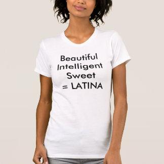 BeautifulIntelligent Sweet=のラテンアメリカ系女性 Tシャツ