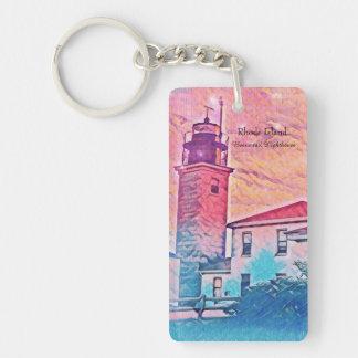 Beavertailの灯台ロードアイランドのキーホルダー キーホルダー