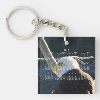 BECの白頭鷲の熟視 キーホルダー