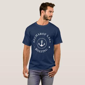 Becharof湖の船遊び Tシャツ