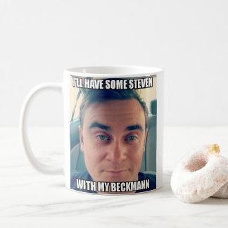 Beckmannのあなたのマグを持つスティーブ コーヒーマグカップ