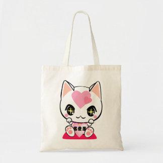 Beckoning cat-招き猫(恋愛運) トートバッグ