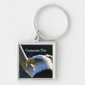 BECUの白頭鷲のクローズアップ キーホルダー