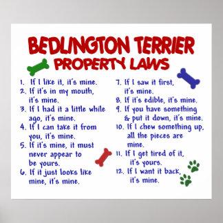 BEDDLINGTONテリアPL2 ポスター