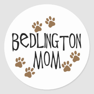 Bedlingtonのお母さん ラウンドシール