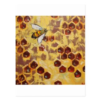 Bee#101-18x18sc ポストカード
