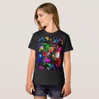 Bee_U_tea_Full! 新しいペンキの版 Tシャツ