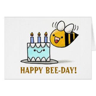 beeday、幸せなBEE-DAY! カード