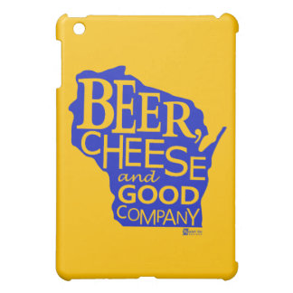 Beer Cheese & Good Company道化のDu Designs WI iPad Miniカバー