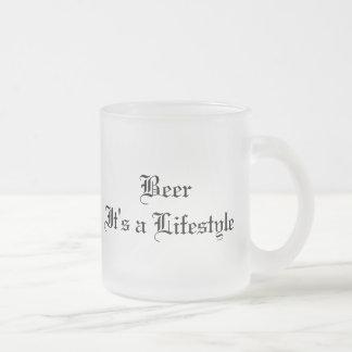 BeerItのライフスタイル、BeerItのライフスタイル フロストグラスマグカップ