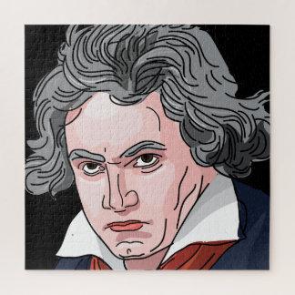 Beethoven Portrait Illustration ジグソーパズル