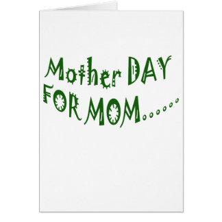 beHappyお母さんのための母の日一緒に カード