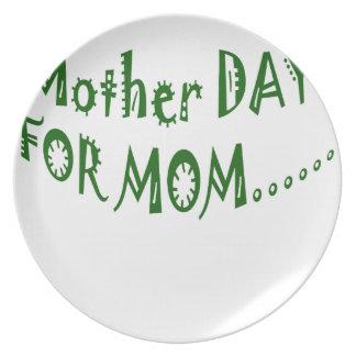 beHappyお母さんのための母の日一緒に プレート