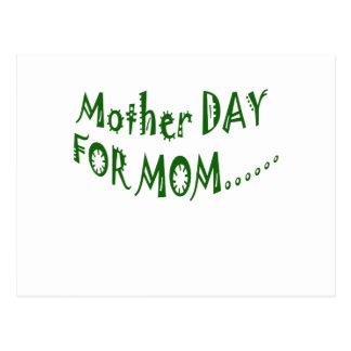 beHappyお母さんのための母の日一緒に ポストカード