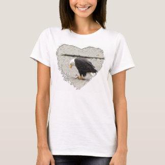 BEHFの白頭鷲の板囲いの魚 Tシャツ