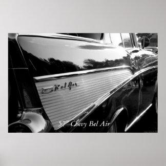 "Bel Air、57"" Chevy Bel Air ポスター"