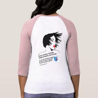 BellaのフェミニンなリーダーのRaglanのTシャツ2 Tシャツ