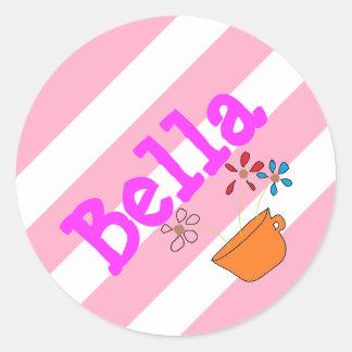 Bellaの一流のステッカー ラウンドシール