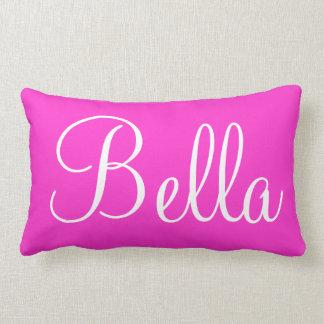 Bellaの腰神経の投球の名前をカスタムするの枕 ランバークッション