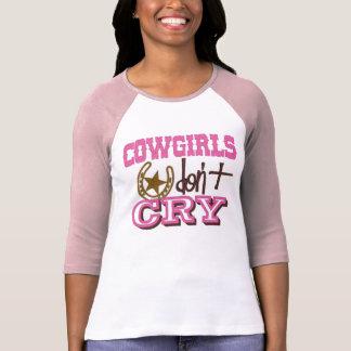 BellaのTシャツの上の女性のカーボーイ Tシャツ
