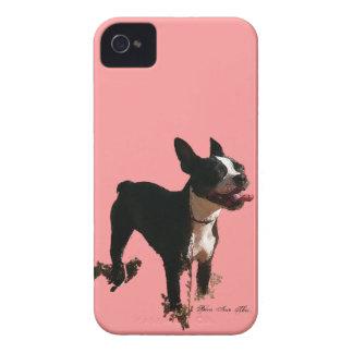 Bellaボストンテリア- Iphoneの4/4S場合 Case-Mate iPhone 4 ケース