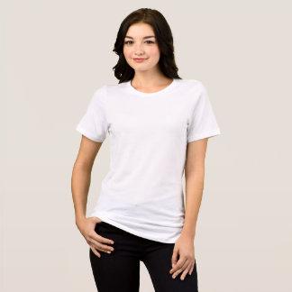 Bella オリジナルレディースクルーネックTシャツをデザイン Tシャツ