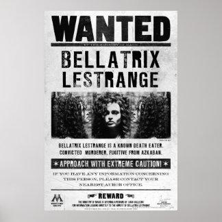 Bellatrix Lestrangeはポスターがほしいと思いました ポスター