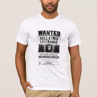 Bellatrix Lestrangeはポスターがほしいと思いました Tシャツ
