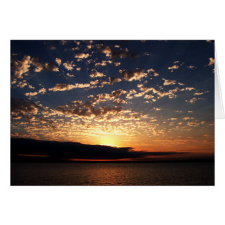 Bellinghamの日没 カード