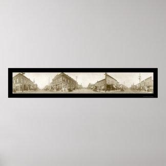 Bellinghamワシントン州の写真1909年 ポスター