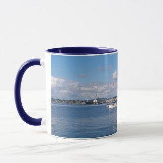 Bellingham湾のボート マグカップ