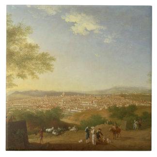 Bellosguardo、17からのフィレンツェの全景 タイル