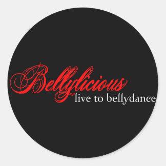 Bellylicious ラウンドシール