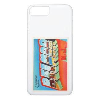 BelmarニュージャージーNJの古いヴィンテージ旅行郵便はがき iPhone 8 Plus/7 Plusケース