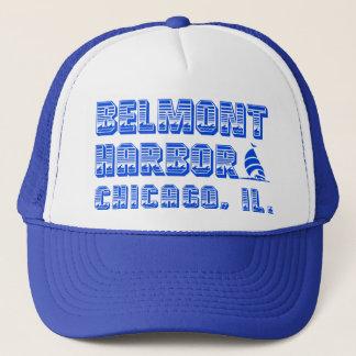 Belmont港のシカゴのトラック運転手の帽子 キャップ