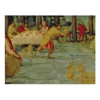 Belshazzar's Banquet、c.1543/44王の ポストカード