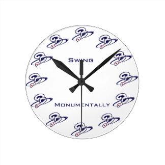 Beltway Bat Company ラウンド壁時計