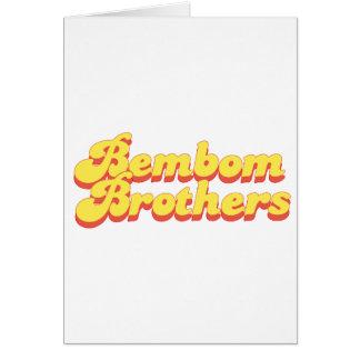 Bembomの兄弟のロゴ カード