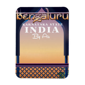 Bengaluruのインド旅行ポスター マグネット