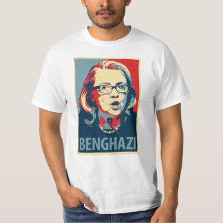 BenghazyのTシャツ-オバマポスターパロディ Tシャツ